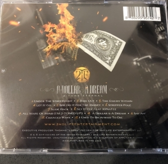 A Dollar & A Dream •Physical CD w/24-Page Full Color Booklet