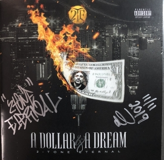 A Dollar & A Dream •Physical CD w/24-Page Full Color Booklet – Signed