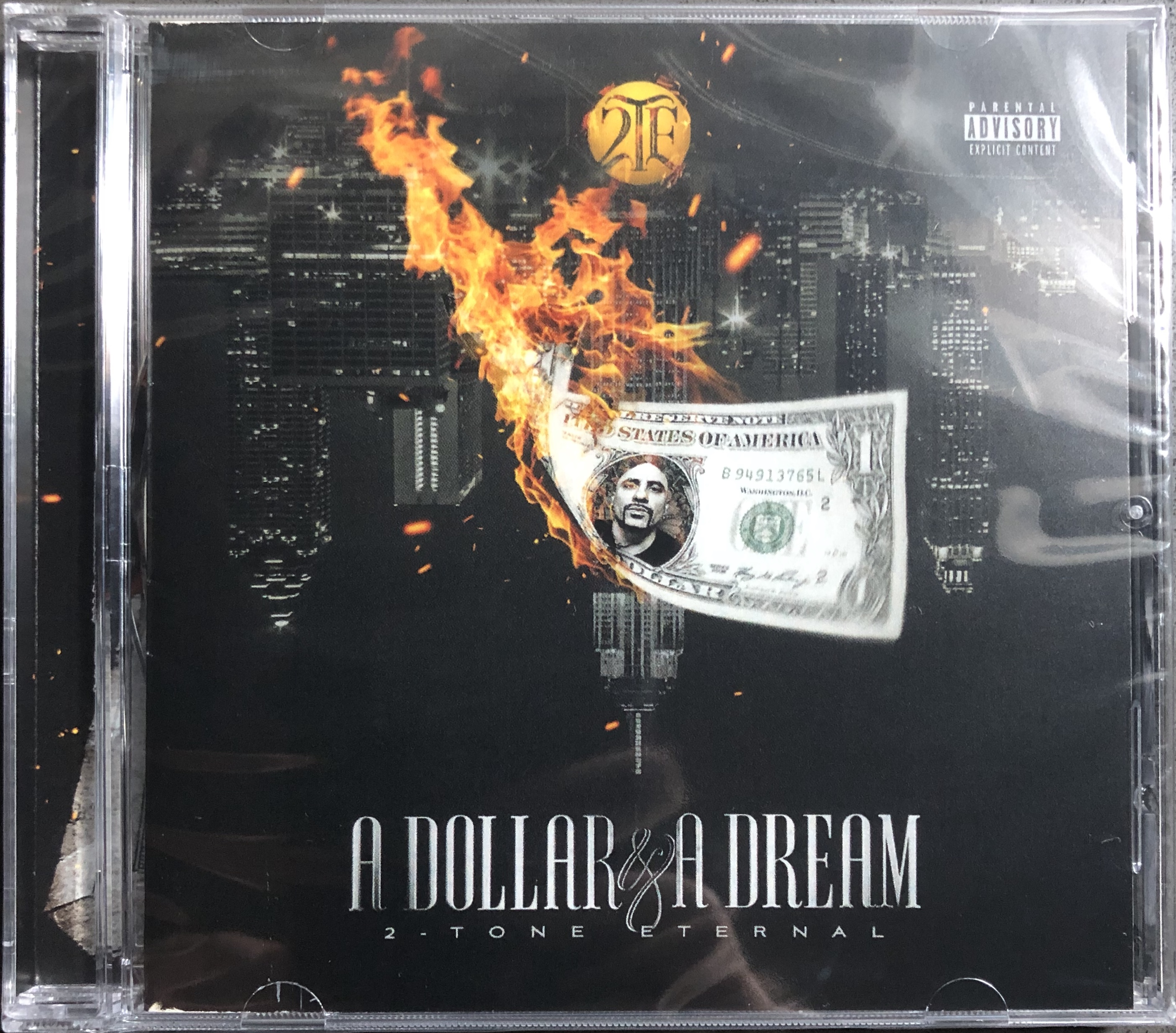 A Dollar & A Dream • Physical CD w/24-Page Full Color Booklet