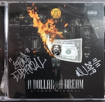 A Dollar & A Dream • Physical CD w/24-Page Full Color Booklet – Signed